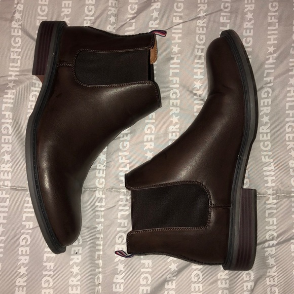 Mens Tommy Hilfiger Chelsea Boots